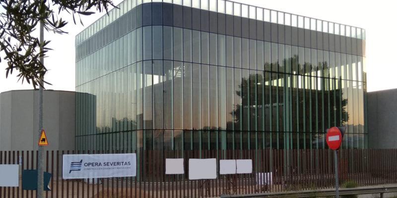 portada edificio oficinas